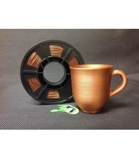 PLA 3 mm 1kg METALLIC COPPER