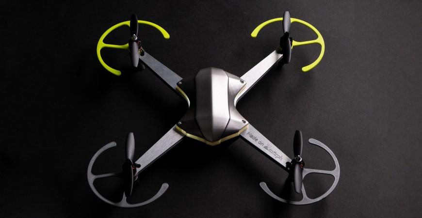 DRON FABRICAT AMB LA ZMORPH VX